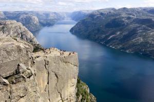 Lysefjorden. Photo: Terje Rakke  #RegionStavanger